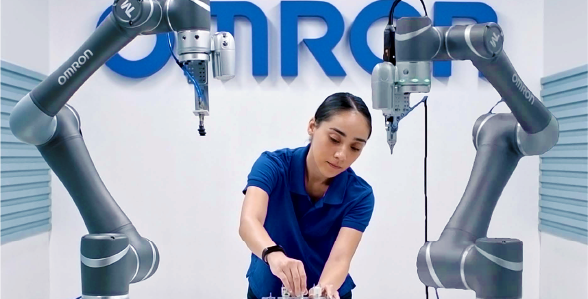Omron Collaborative Robot Cobot Flexibility in Collaborative Robot